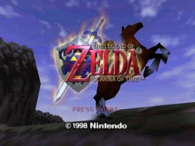 The Legend of Zelda: Ocarina of Time - Intro