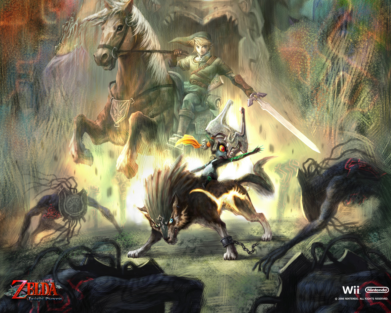 Twilight Princess - Wallpapers