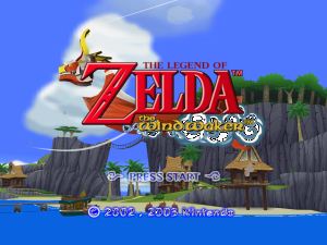 The Legend of Zelda: The Wind Waker - Intro